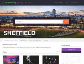 communityfriend.co.uk screenshot