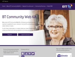 communitykit.co.uk screenshot