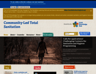 communityledtotalsanitation.org screenshot