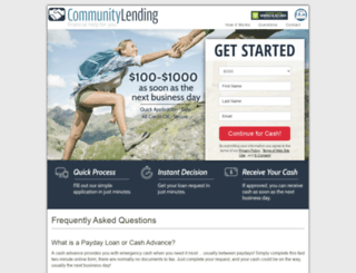 communitylending.dailyfinancegroup.com screenshot