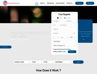 communityrishtey.com screenshot