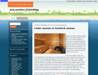 communityservices.fishinblogs.com screenshot
