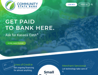 communitystatebank-fl.com screenshot