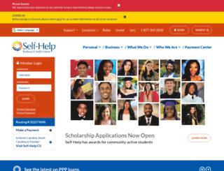 communitytrust.self-helpfcu.org screenshot