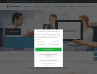communote.com screenshot
