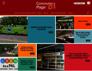 commuterpage.com screenshot