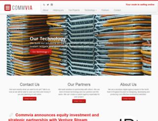 commvia.org.uk screenshot