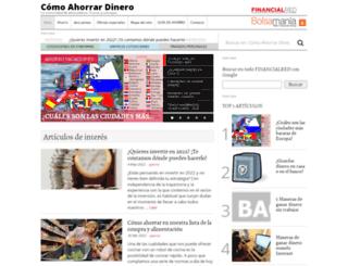 comoahorrardinero.com screenshot