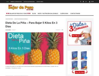 comobajardepesoen21dias.com screenshot