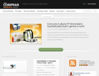 comocomprarmelhor.com.br screenshot