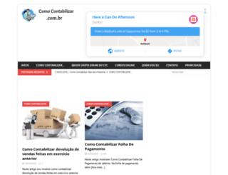 comocontabilizar.com.br screenshot