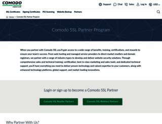 comodopartners.com screenshot