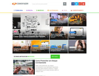 comofazer.net screenshot