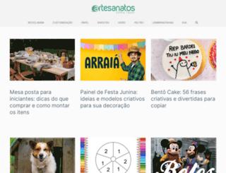 comofazerartesanatos.com.br screenshot