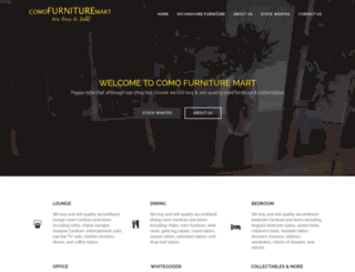 comofurnituremart.com screenshot
