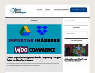 comohacerunapagina.es screenshot