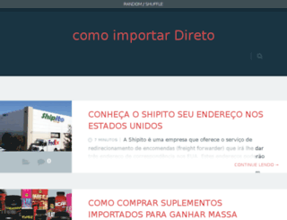 comoimportardireto.net screenshot