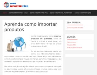 comoimportarfacil.com screenshot