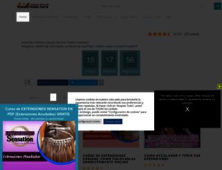 comoponerextensiones.com screenshot