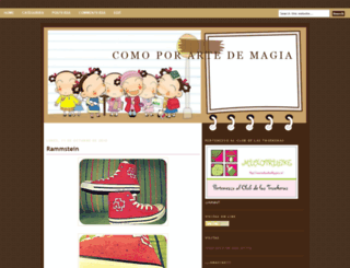 comoporartedemagiarbk.blogspot.com screenshot