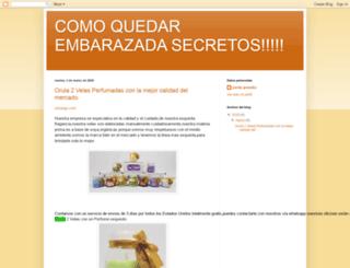 comoquedarembarazadasecretos.blogspot.com screenshot