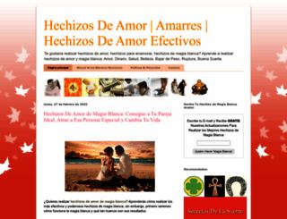 comorealizarhechizos.blogspot.mx screenshot
