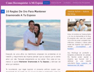 comoreconquistaramiesposo.net screenshot