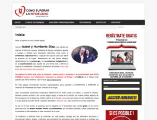 comosuperarlainfidelidad.com screenshot