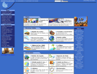 comoviajar.com screenshot