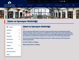 comp.ieu.edu.tr screenshot