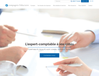 compagnie-fiduciaire.com screenshot