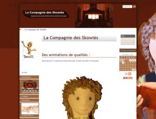 compagnie-skowies.com screenshot