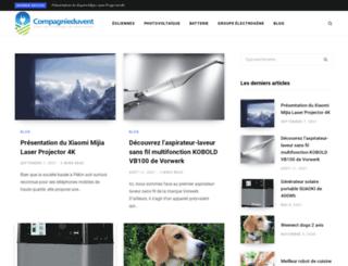 compagnieduvent.com screenshot