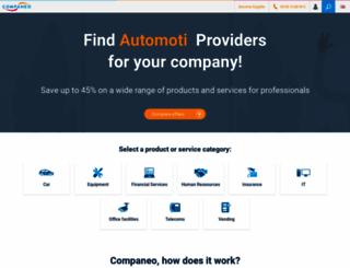 companeo.co.uk screenshot