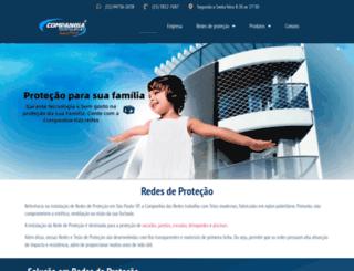 companhiadasredes.com.br screenshot
