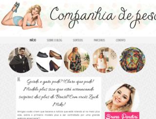 companhiadepeso.blogspot.com.br screenshot