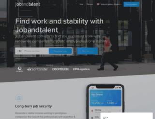 companies.jobandtalent.com screenshot