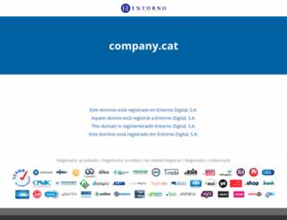company.cat screenshot