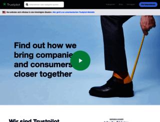 company.trustpilot.de screenshot