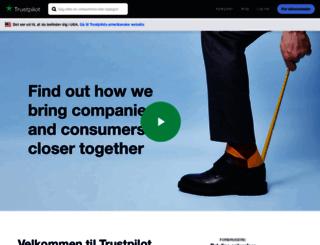company.trustpilot.dk screenshot