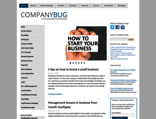 companybug.com screenshot
