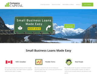 companycapitalinc.com screenshot