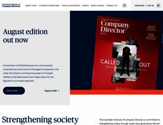 companydirectors.com.au screenshot