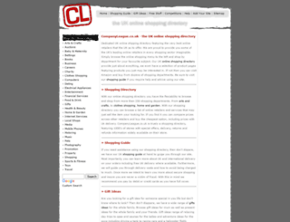 companyleague.co.uk screenshot
