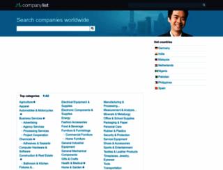 companylist.org screenshot
