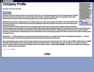 companyprofile.blogspot.com screenshot