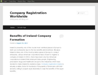 companyregistrationdubai.blog.com screenshot
