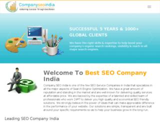 companyseoindia.com screenshot