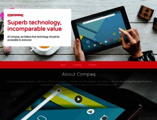 compaq.com screenshot