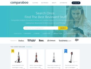 comparaboo.co.uk screenshot